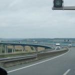 Мост в районе Кале во Франции