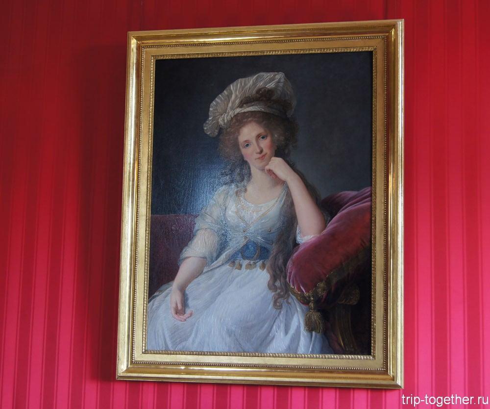 Кабинет Луи Филиппа. Портрет дочери адмирала Аделаиды де Бурбон, герцогини Орлеанской