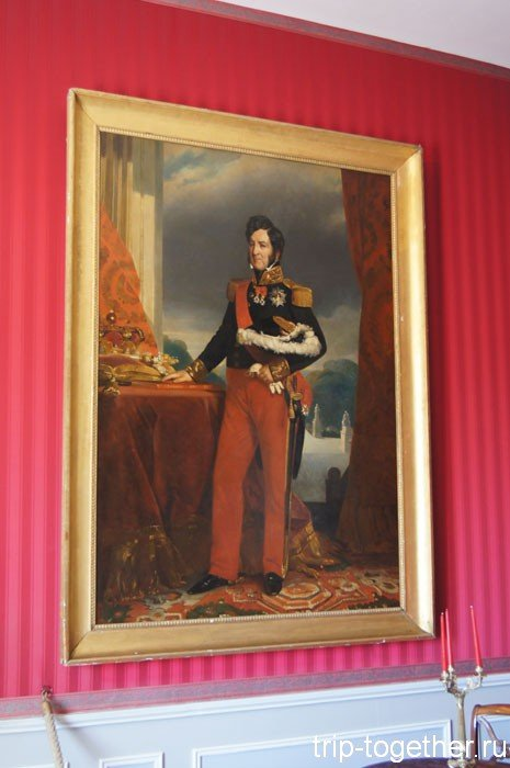Портрет Луи-Филипппа в замке Амбуаз