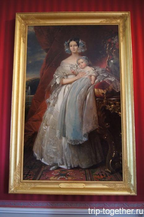 Хелена де Меклекнбург Шверин, герцогиня Орлеанская 1814. 1858