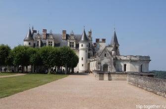 Замок Амбуаз в долине Луары, Франция