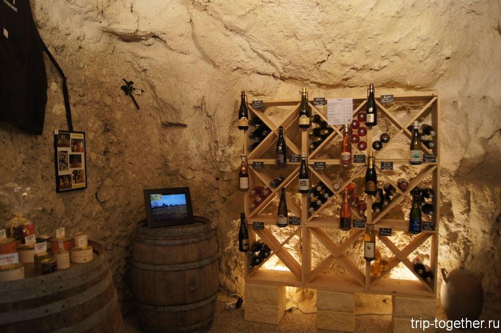 Винный погребок под стенами замка Амбуаз