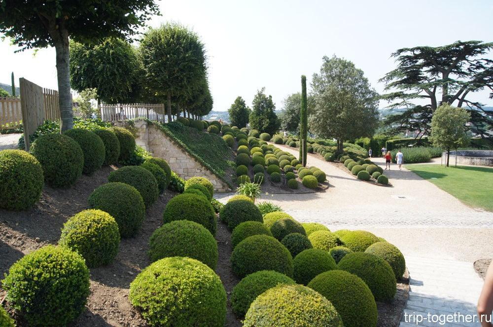 Реннесансный сад замка