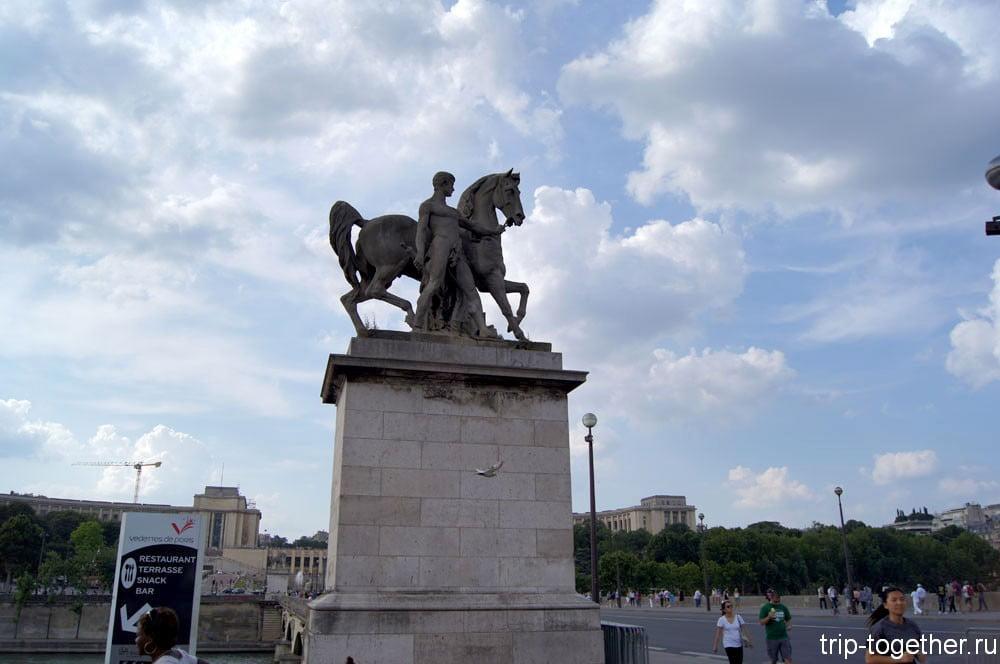 Почти кони Клода в Париже