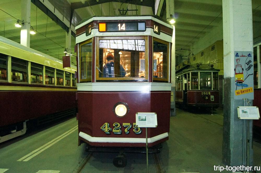 Первые трамваи Санкт-Петербурга