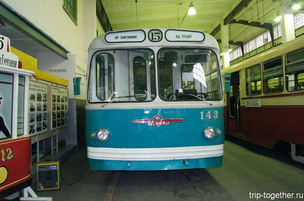 Троллейбус ЗиУ-5Г №143