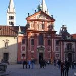 Пражский град. церковь Святого Георгия