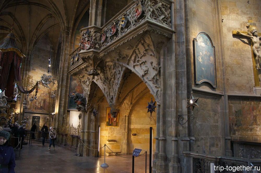Интерьеры собора Святого Вита