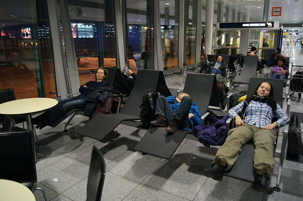 Отдыхаем в аэропорту Мюнхена