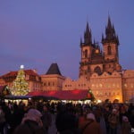 Новогодняя Прага