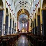 Центральный неф базилики Святого Серватия. Маастрихт.