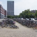 Велосипедная парковка. Маастрихт.