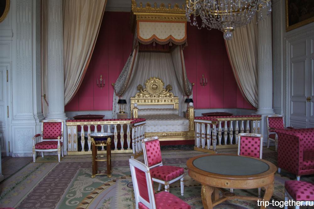 Спальня короля в Большом Трианоне