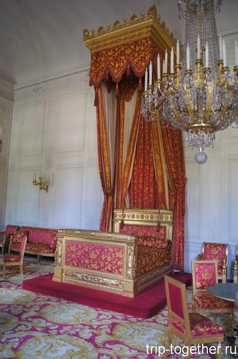 Спальня бельгийской королевы