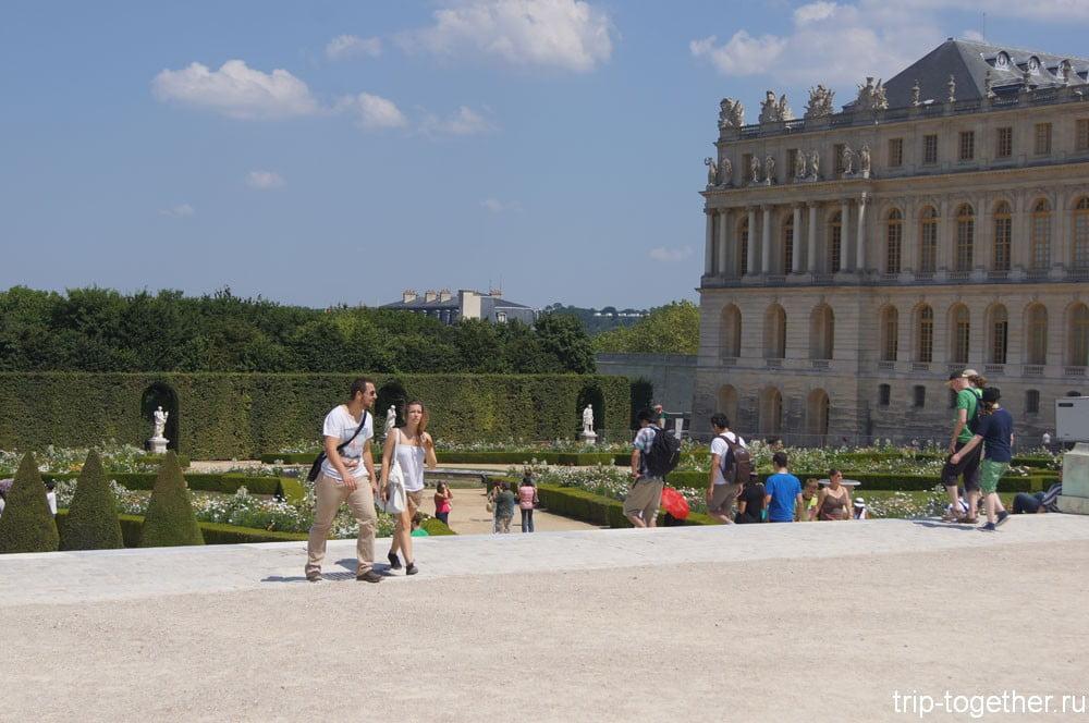 Боковой боскет парка Версаль
