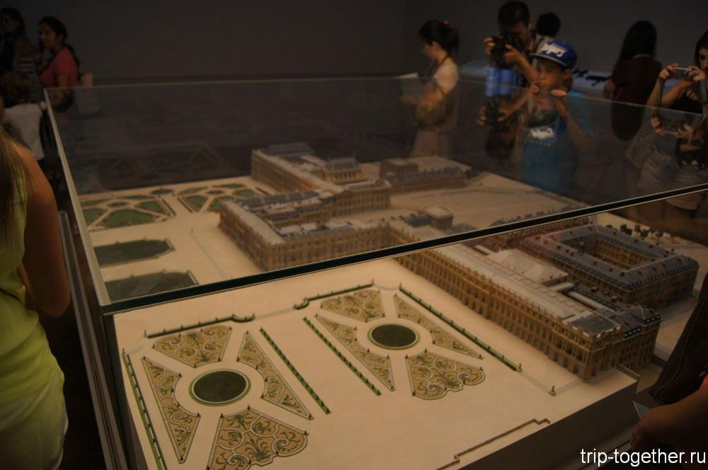 Версальский дворец - макет дворца