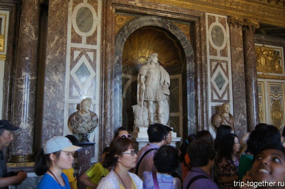 Еще одна статуя Людовика XIV