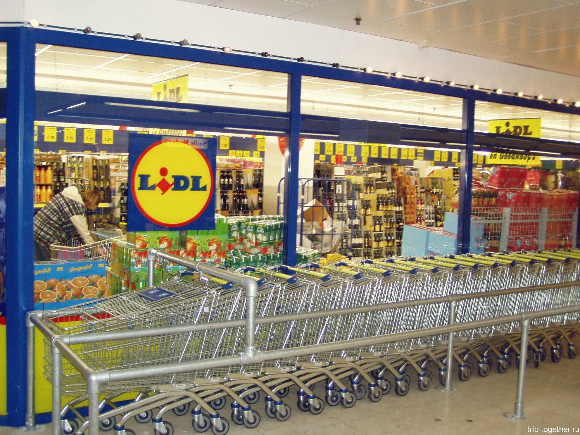 Магазины Lidl