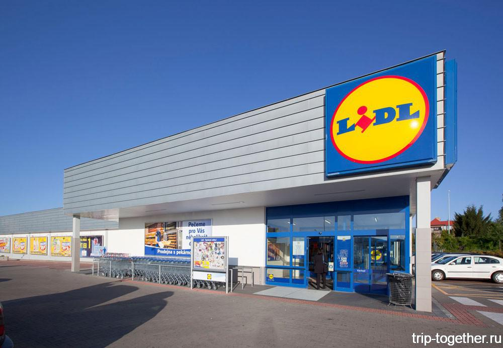 Магазины сети LIDL - экономим на питании в Европе  