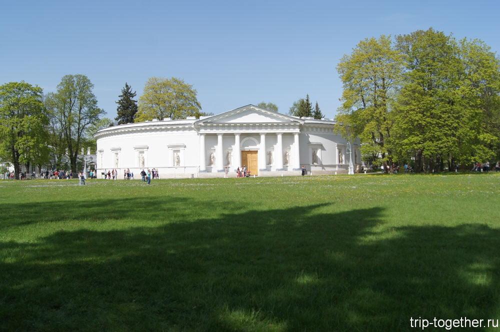 Вспомогательный корпус Елагиноостровского дворца-музея