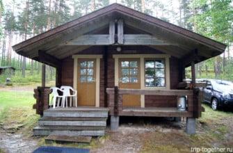 Кемпинг кабина в Финляндии