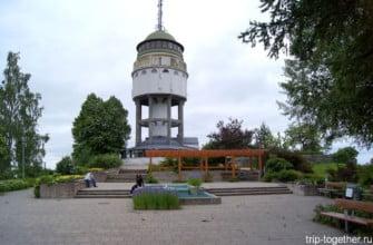 Башня в Миккели. Финляндия