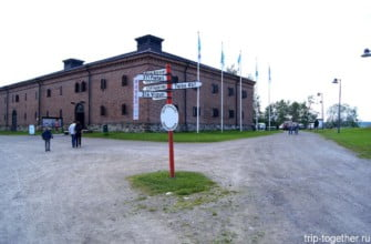 Краеведческий музей в Савонлинне. Финляндия