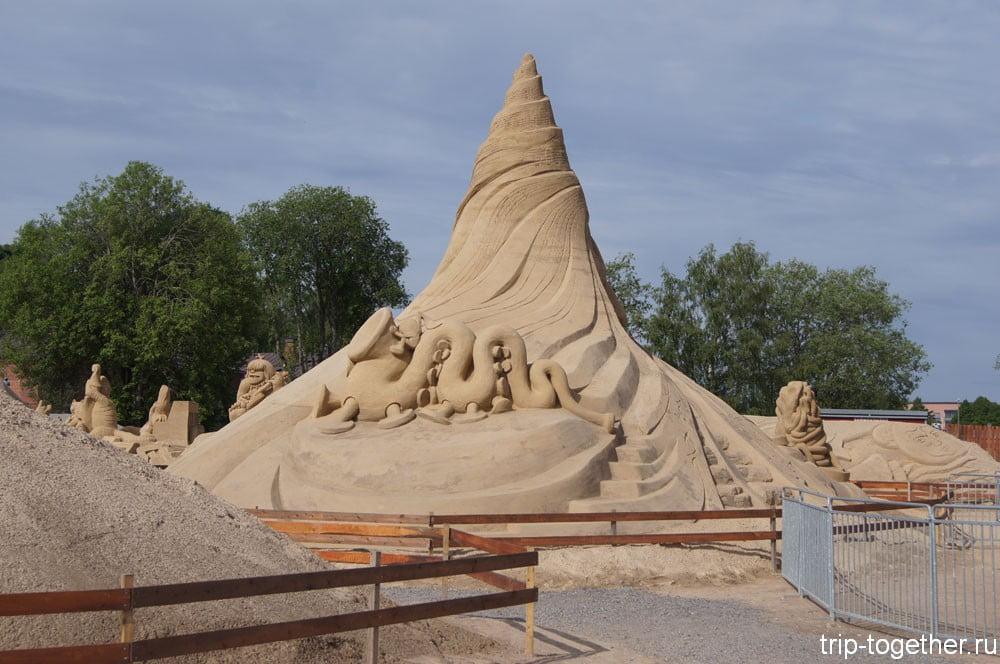 Фестиваль песчаной скульптуры в Лаанпеенранте