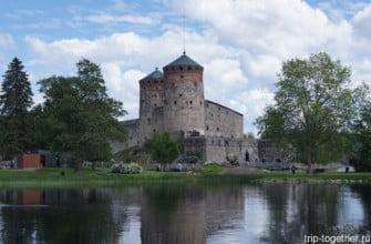 Крепость в Савонлинне, Финляндия