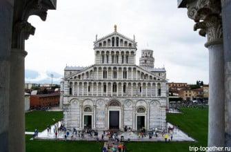 Поле чудес в Пизе, Тоскана, Италия