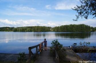 Кемпинги в Иматре. Финляндия