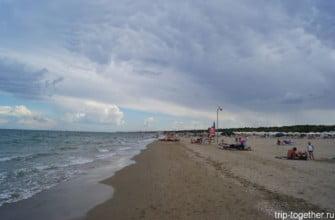 Пляжи Равенны. Италия