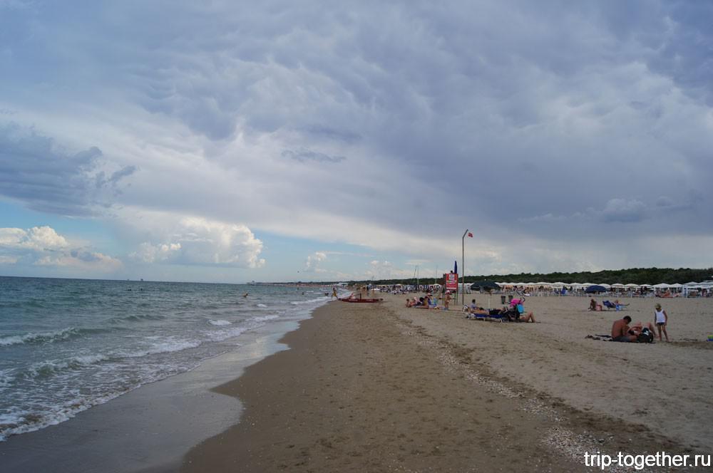 Пляжи Равенны
