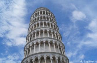 Пизанская башня. Пиза. Италия