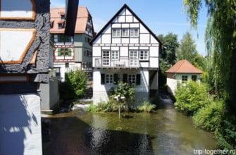 Квартал Рыбаков, Ульм, Швабия, Германия