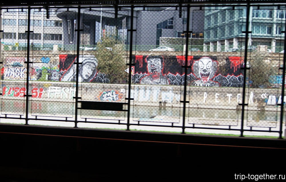 Граффити в Вене