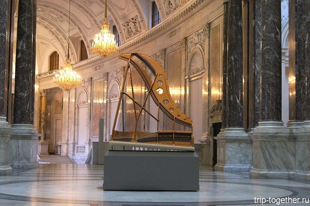Музей старинных музыкальных инструментов в Вене