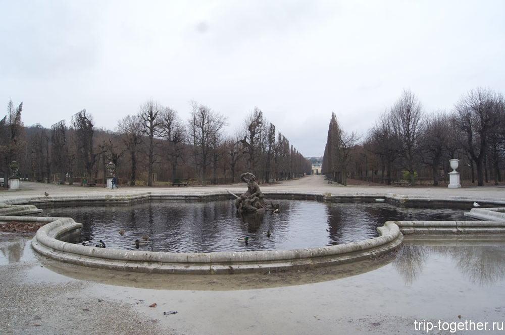 Парк Шёнбрунн
