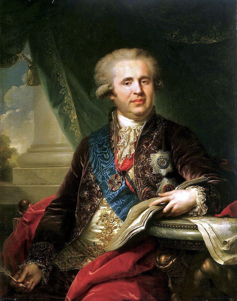 Александр Андреевич Безбородко, канцлер Российской империи, 1747-1799