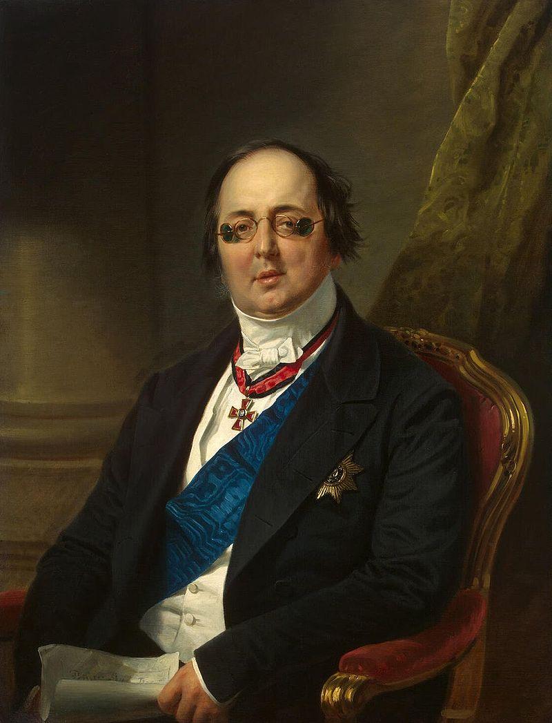 Александр Григорьевич Кушелев-Безбородко, 1800-1855 г.г.