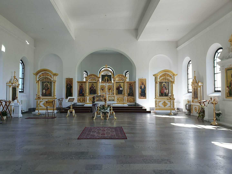 Церковь во имя святителя Пантелеймона, интерьер