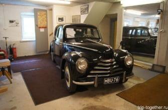 Музей ретро автомобилей. Иматра. Финляндия
