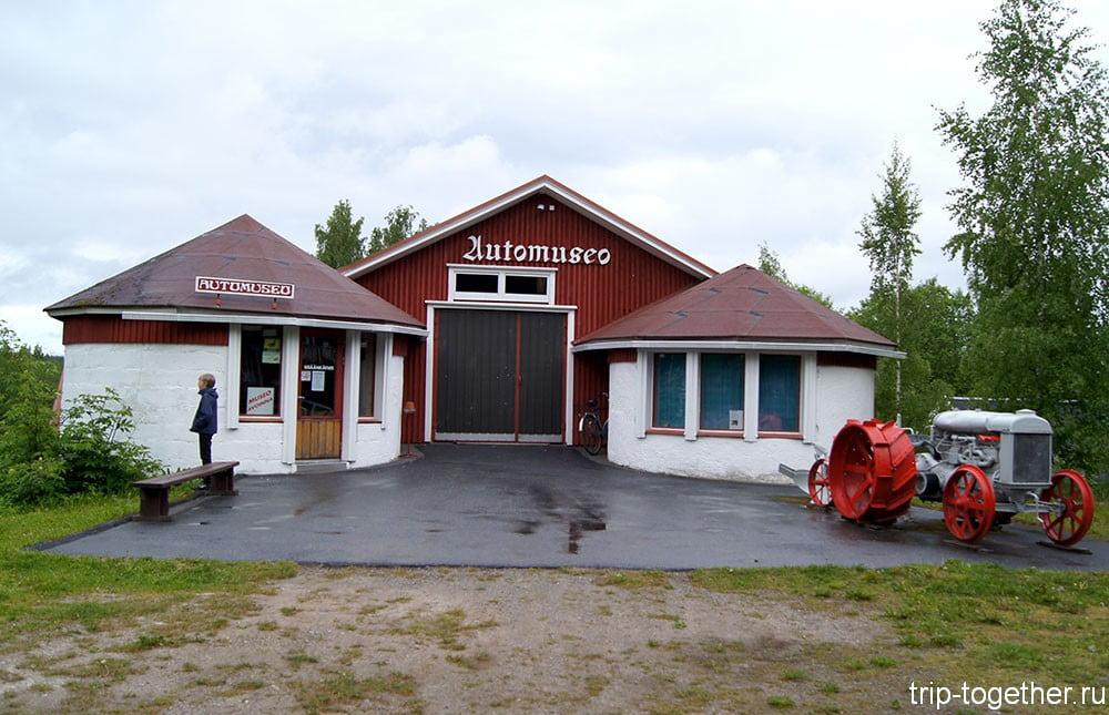 Музей ретро автомобилей в Финляндии