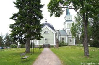 Церковь в Руоколахти. Финляндия