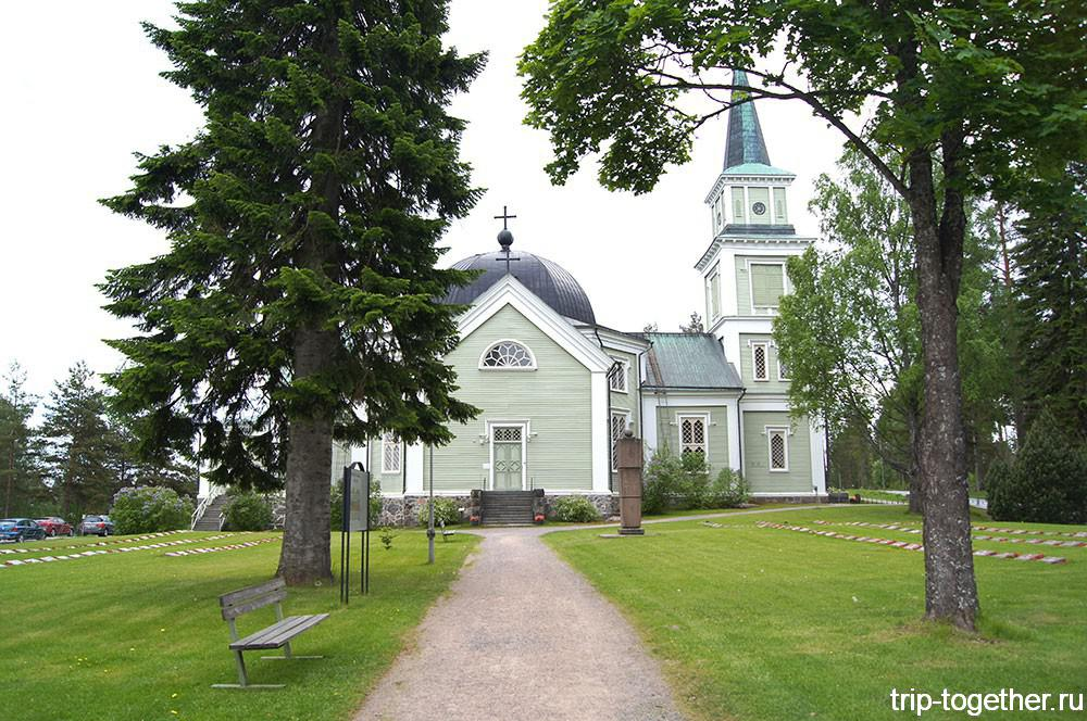 Руоколахти - кирха на церковном холме