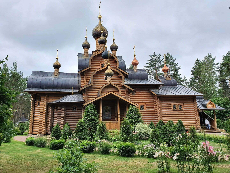 Церковь всех Святых в Сосново
