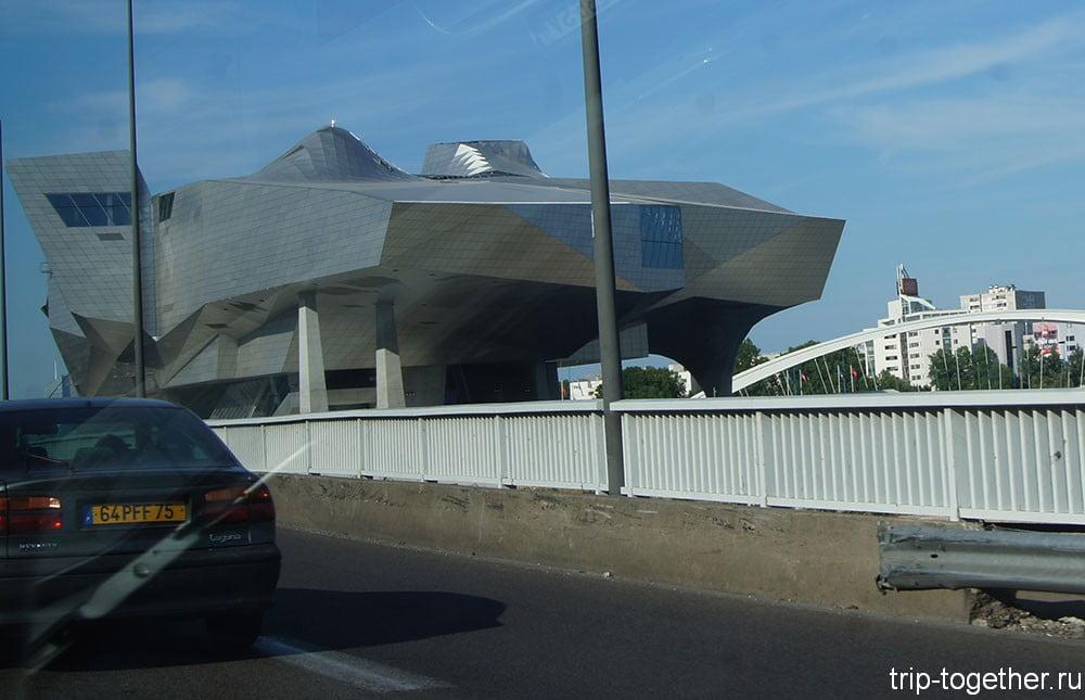Музей слияния в Лионе