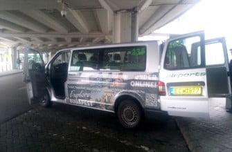 Airport shuttle - автобус в Будапеште