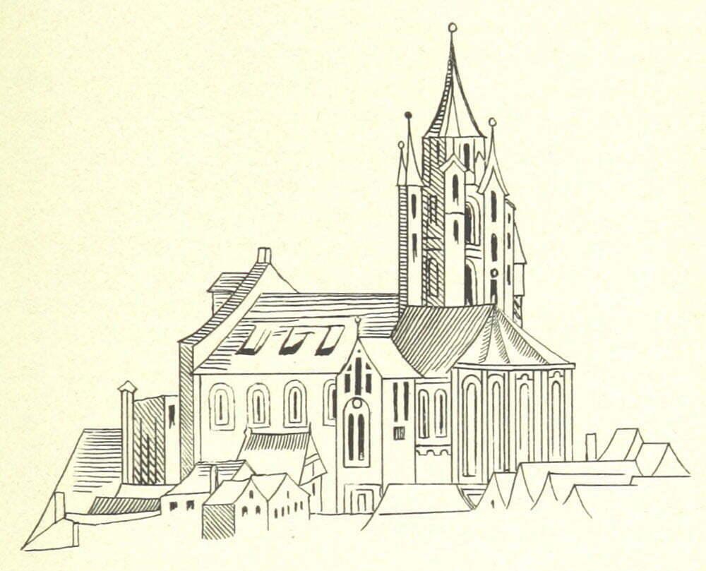 Церковь Матьяша, 1493 год