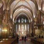 Центральный неф церкви Матьяша